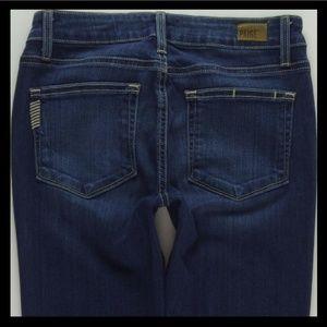 PAIGE Verdugo Ankle Super Skinny Jeans sz 28 #1214